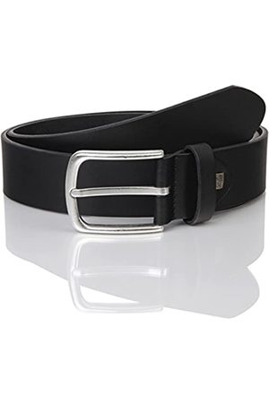 LINDENMANN The Art of Belt by Mens leather belt/Mens belt, full grain leather belt with effect, unisex
