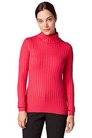 TOM TAILOR Women's Rollkragen Rib Longsleeve T-Shirt
