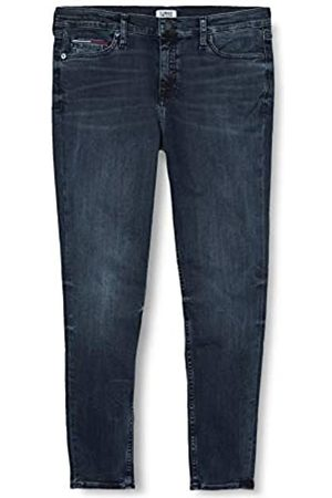Tommy Jeans Women's Nora MR Skinny Ankle GDK Straight Jeans