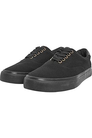 Urban Classics Low Sneaker With Laces, Unisex Adults' Low-Top Trainers, (Blk/Blk)