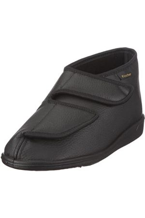 Fischer Men's Frank Hi-Top Slippers, (Schwarz 222)