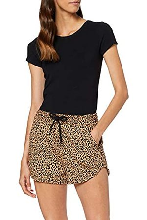 Warehouse Women's Cheetah Print Beach Shorts