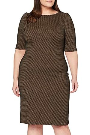 Dorothy Perkins Curve Women's Textured Bodycon Print Dress