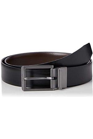 Calvin Klein Men's 35MM ADJ/REV Bombed Belt