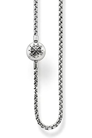 Thomas Sabo Women Men-Necklace Karma Beads 925 Sterling blackened Length 70 cm KK0002-001-12-L70