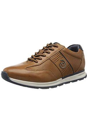 bugatti Men's 321839031100 Low-Top Sneakers, (Cognac 6300)