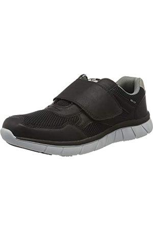 Lico Men's Emilio V Low-Top Sneakers, (Schwarz/Grau Schwarz/Grau)