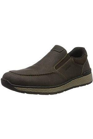 Rieker Men's Herbst/Winter Loafers, (Moro/ /Moro 26)