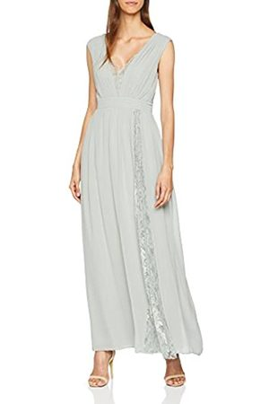 Little Mistress Women's Lace Maxi Dress, (Waterlily)