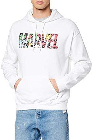Marvel Men's Logo Character Infill Sweatshirt