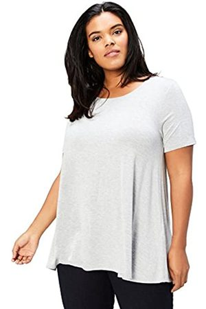 Daily Ritual Amazon Brand - Women's Plus Size Jersey Short-Sleeve Scoop Neck Swing T-Shirt 4X