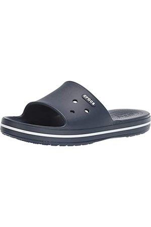 Crocs Unisex Adults' Crocband III Slide Open Toe Sandals, (Navy/ 462)
