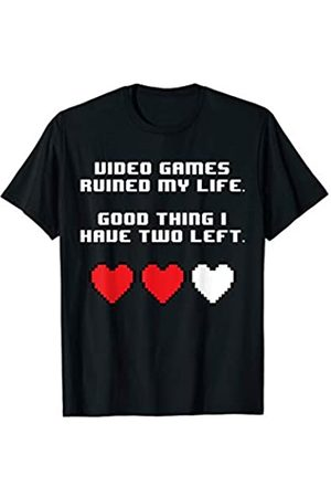 NoiseBot Video Games Ruined My Life T-Shirt funny saying sarcastic