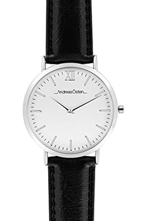 Andreas Osten Unisex Adult Analogue Quartz Watch with Leather Strap AO-01
