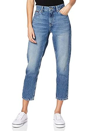 Tommy Jeans Women's IZZY HIGH Rise Slim Ankle SNDM Straight Jeans