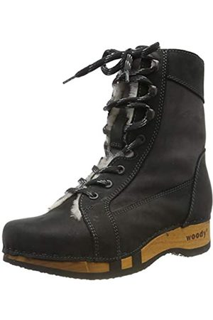 Woody Women's Heike Ankle Boots, (Nero-Grigio 081)