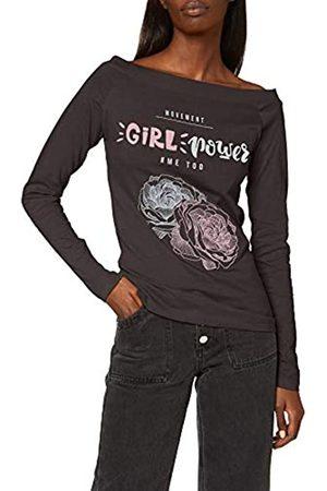 INSIDE Women's 84SPLN35 Longsleeve T-Shirt, (Negro 1)