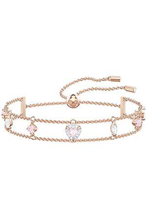Swarovski Women's Multi-colored Rose-gold tone plated One Bracelet 5446304