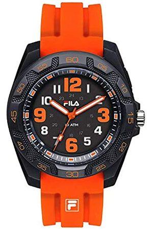 Fila Unisex Adult Analogue Quartz Watch with Silicone Strap 38-091-005