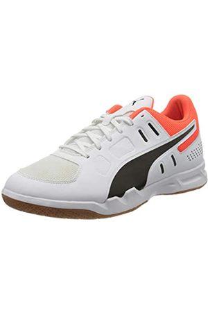 Puma Hombre Auriz Zapatos de Futsal, Blanco -Nrgy -Gum 05