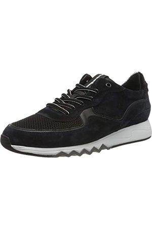 Floris van Bommel Men's 16093/17 Low-Top Sneakers, (Navy Suede Combi 17)