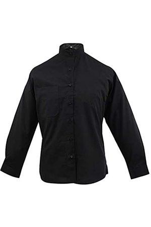 MISEMIYA Uniform Shirt Waitress Lady Collar Mao with Long Sleeves - Ref.8271 - Medium