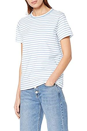 Tommy Hilfiger Women's Th Relaxed C-nk Tee Ss Sports Knitwear