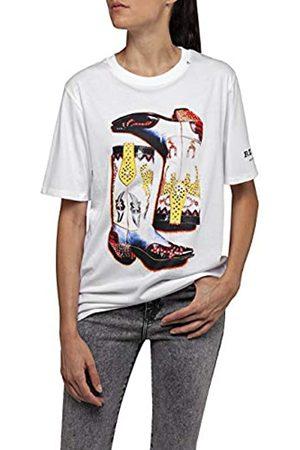 Replay Women's W3180g.000.20994 T-Shirt