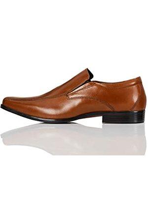 FIND Amazon Brand - Men's Loafers, (Napa Tan)