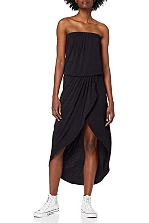 Urban classics Women's Ladies Viscose Bandeau Dress Party