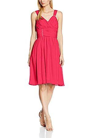 Astrapahl Womens co8007ap Knee-Length Plain Cocktail Sleeveless Dress