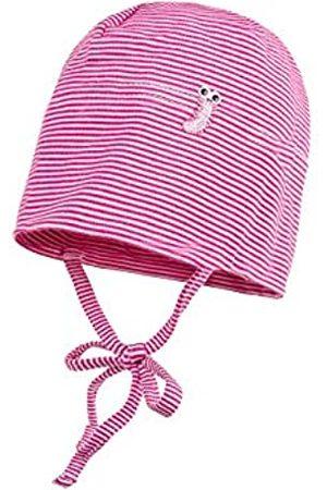 maximo Baby Girls' Beanie, Gestreift Hat