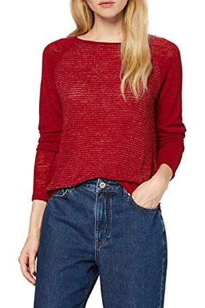 Only Women's Onldebra L/s Glitter Placket Top Sweatshirt