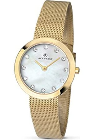 Accurist Womens Analogue Classic Quartz Watch with Stainless Steel Strap 8127