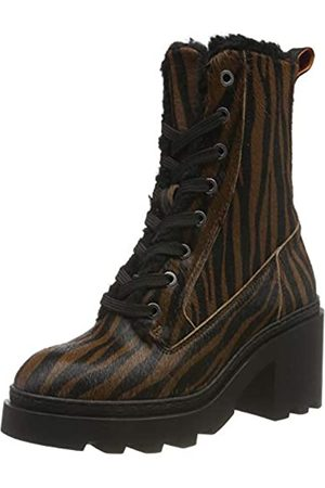 SCOTCH & SODA FOOTWEAR Women's Calista Ankle Boots, (Zebra Optics S454)