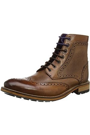 Ted Baker Men Boots - Men's Sealls 3 Ankle Boots, (Tan)