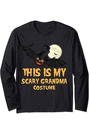 Halloween Tees This is My Scary Grandma Costume Adult Halloween Long Sleeve T-Shirt
