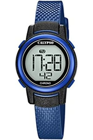 Calypso Unisex-Adult Digital Quartz Watch with Plastic Strap K5736/6