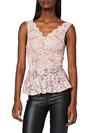 New Look Women's GO LACE Sequin Peplum TOP Shirt
