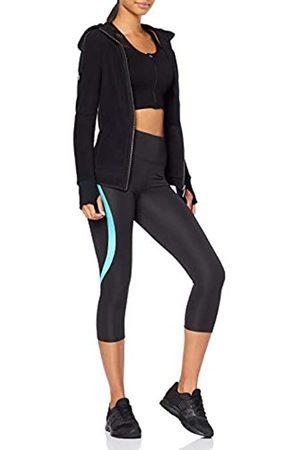AURIQUE Amazon Brand - Women's Cropped Sports Leggings, 12