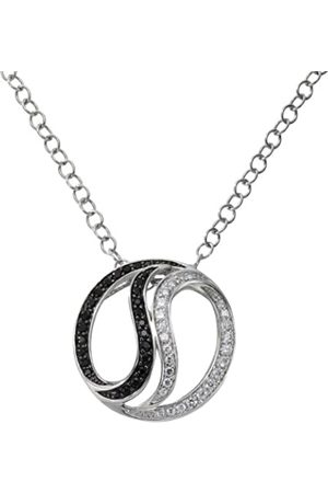 CELESTA 360050013 Cubic Zirconia 50.0 centimetres 9.2 Grams Brass Pendant Necklace