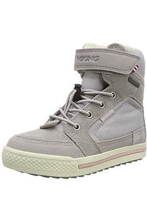 Viking Unisex Kids' Zing GTX Snow Boots, (Pearlgrey/Darkgrey 9591)