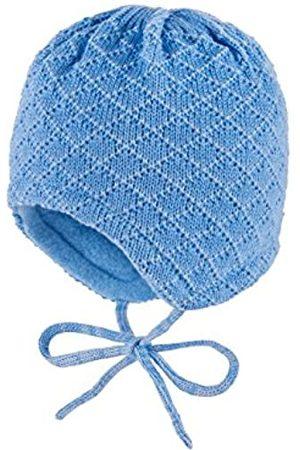 maximo Baby Boys' Mütze, ausgenäht, Bindeband, Rhombenstruktur Hat
