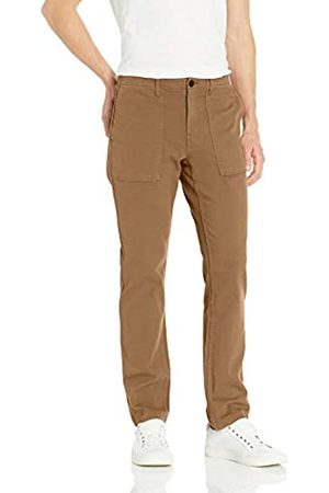 Goodthreads Men's Standard Slim-Fit Porkchop Pocket Stretch Canvas trouser