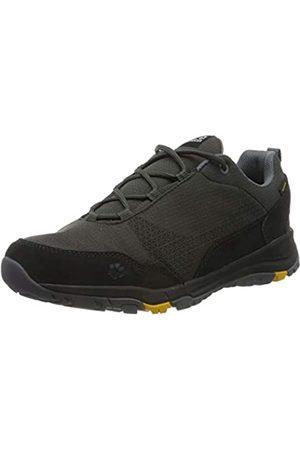 Jack Wolfskin Men's Activate Xt Texapore Low M Wasserdicht Rise Hiking Shoes, (Dark Steel/Phantom 6056)