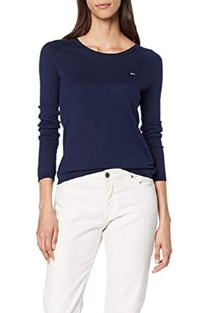 Tommy Jeans Women's Tjw Contrast Piping Sweater Sweatshirt
