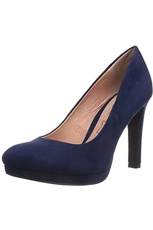 Buffalo Shoes H748-1 P1804D, Women's Closed-Toe Pumps, (Navy)