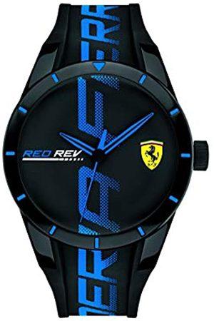 Scuderia Ferrari Mens Analogue Classic Quartz Watch with Silicone Strap 0830616