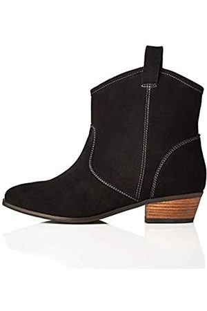 find. Pull On Leather Casual Western Chelsea Boots, )