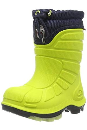 Viking Unisex Kids' Extreme Snow Boots, (Lime/Navy 8805)